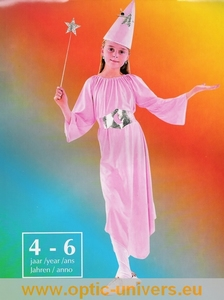 costume enfant princesse fee rose 4/6 Deguisement