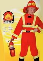 pompier 8/10 ans Deguisement costume  panoplie