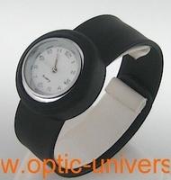 Montre Femme bracelet Clic Clac Softouch Dia 2,8cm noir