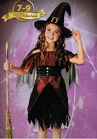 sorciere 7 9 ans halloween panoplie