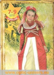 Princesse mediévale  7/9 ans deguisement panoplie