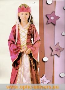 Princesse rouge 4/6 ans deguisement panoplie