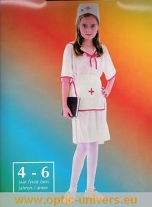 infirmiere 4/6  ans Deguisement costume enfant