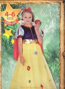 princesse blanche neige 4/6 ans Deguisement costume enfant