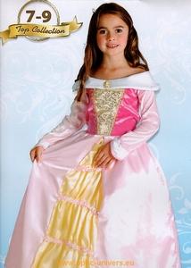 princesse rose crinoline 7/9 Deguisement costume enfant