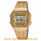 Casio A168WG 1572 acier doré montre  vintage collection