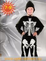squelette 7/9  Ans Deguisement costume halloween
