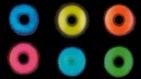 Lentilles UV Fluo demoniac lentille de contact